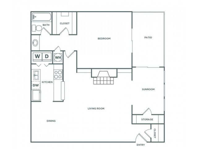 1BR - 1 Bedroom - Luxe | 1 bed 1 bath | from 1005 square feet