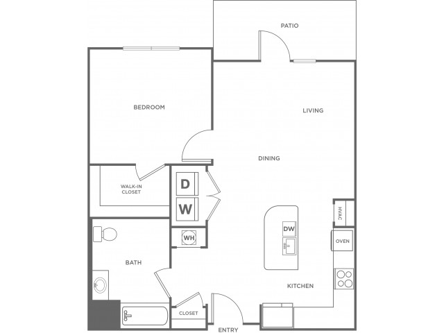 Cherry | 1 bed 1 bath | from 783 square feet