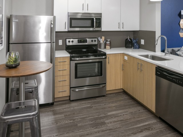 Image of Upgraded kitchens with modern appliances for Waterline