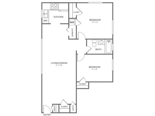 Lummi-Restored | 2 bed 1 bath | from 819 square feet