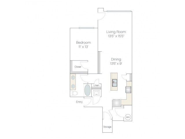 AT1.GR | 1 bed 1 bath | from 888 square feet