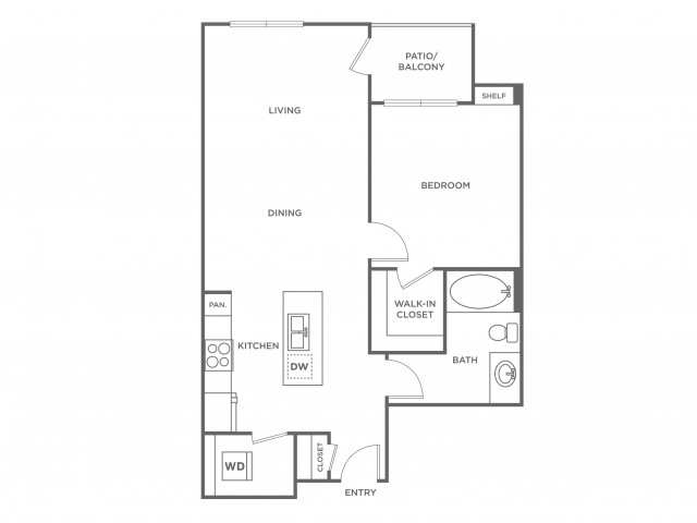 Autumn | 1 bed 1 bath | from 711 square feet