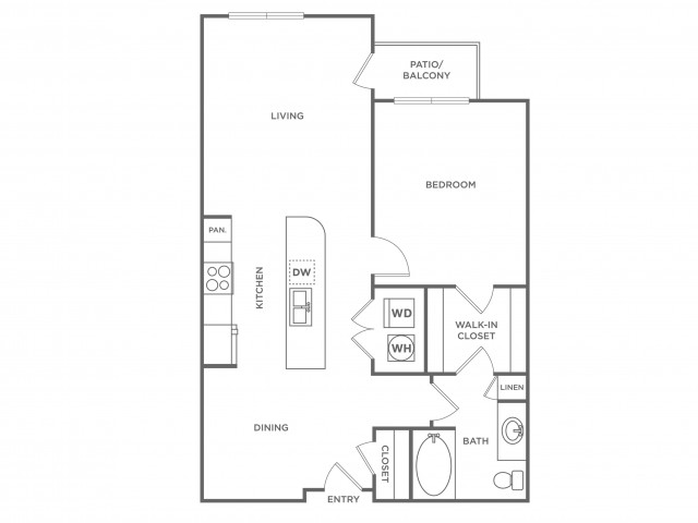 Coco | 1 bed 1 bath | from 775 square feet