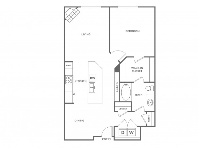 Emerald | 1 bed 1 bath | from 853 square feet