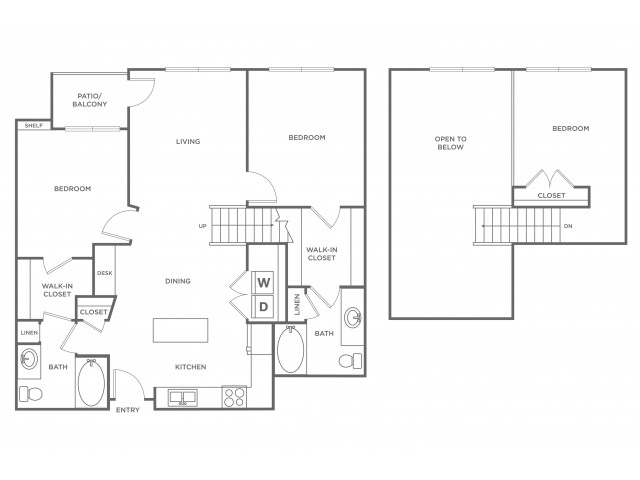 Turquoise | 3 bed 2 bath | from 1362 square feet