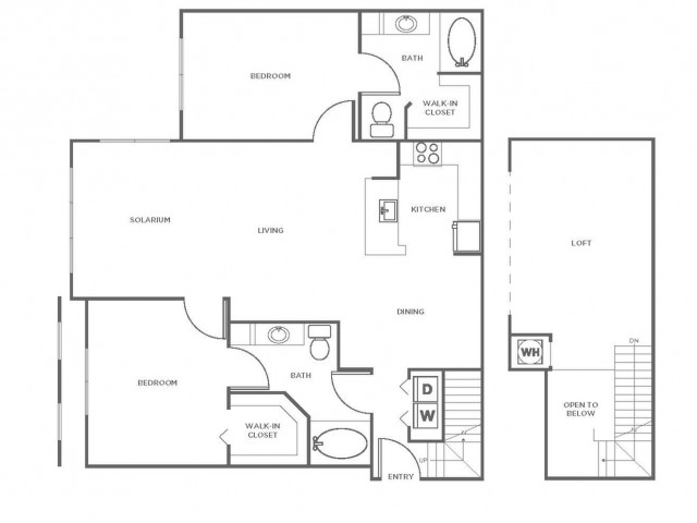 B6GIG | 2 bed 2 bath | from 1464 square feet