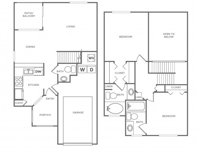 TH Diamond | 2 bed 2 bath | from 1220 square feet