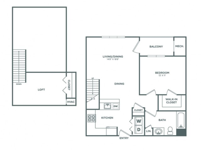 Ash | 1 bed 1 bath | from 898 square feet