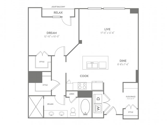 Vibe | 1 bed 1 bath | from 956 square feet