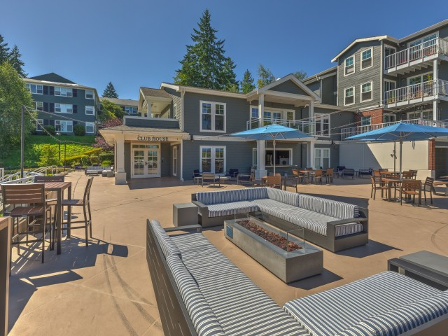Image of Expansive Sun Deck with Grilling Stations for Shorewood