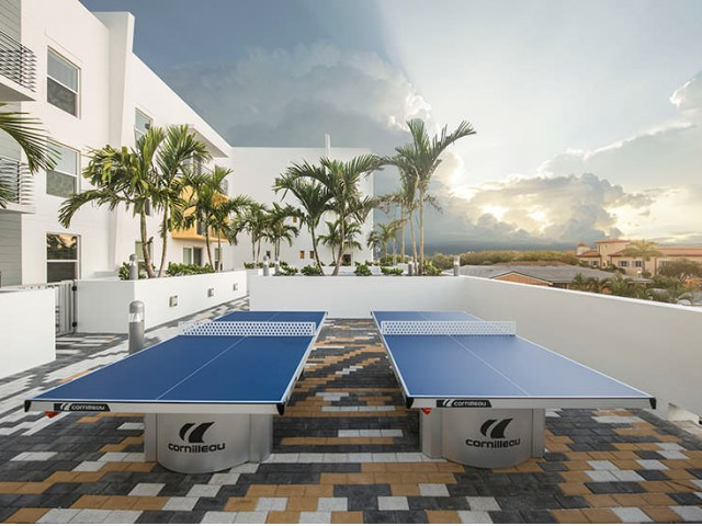 Image of Sun Soak Pool and BBQ Deck for Caspian Delray Beach