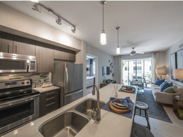 Image of Modern, open concept kitchens for Boca City Walk