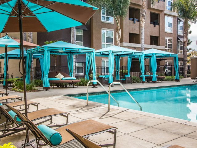 Image of Resort-Style Pool and Spas with Cabanas and Wi-Fi for Calypso Apartments and Lofts