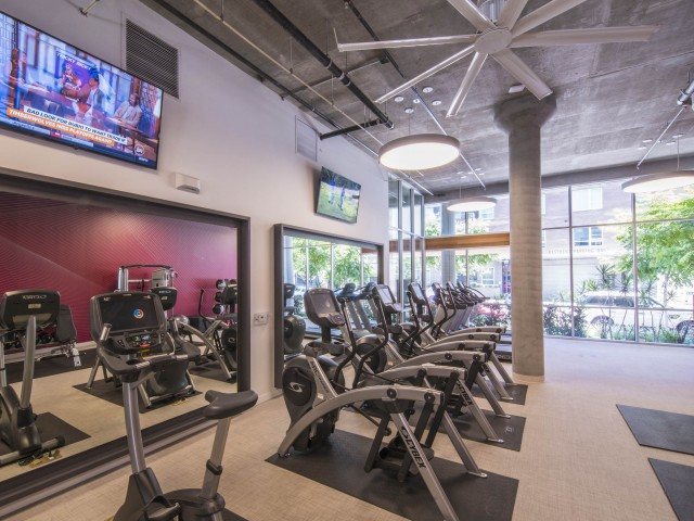 Image of Fitness Center with Cardio, Weights and Resistance Training for EV Lofts