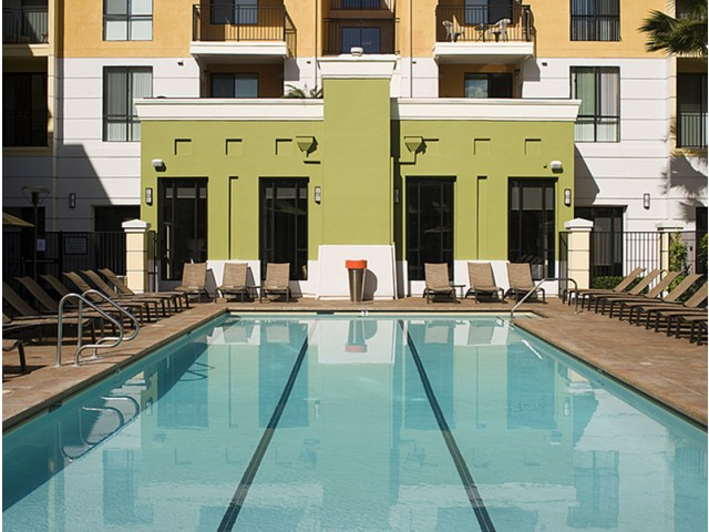 Image of Resort-Inspired Heated Pool with Spa and Cabanas for The Gallery at NoHo Commons