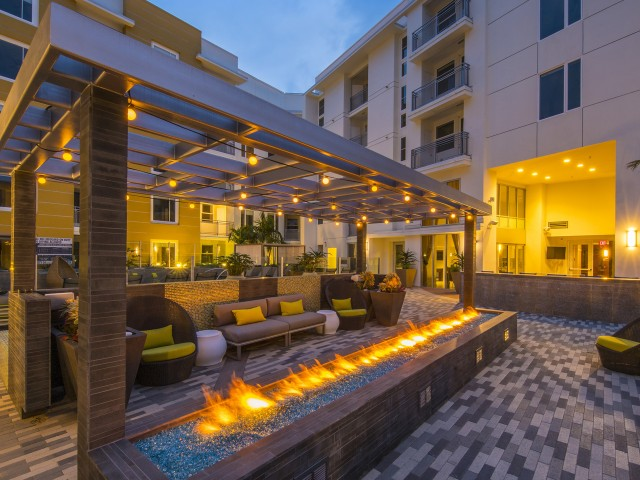 Image of Firepit Lounge for Desmond at Wilshire