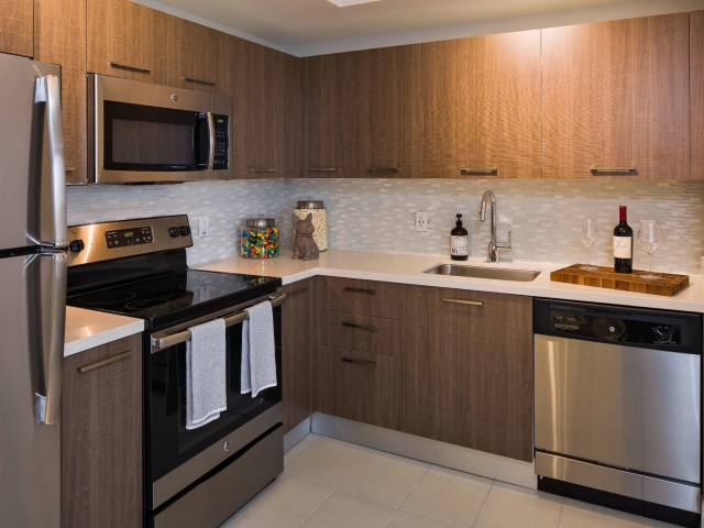 Image of Italian cabinetry by Italkraft® for Intown