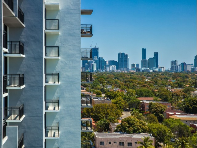 Image of Unobstructed views of Brickell skyline, Coral Gables and Biscayne Bay for Intown