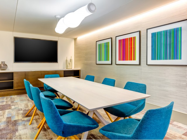 Resident media and conference room
