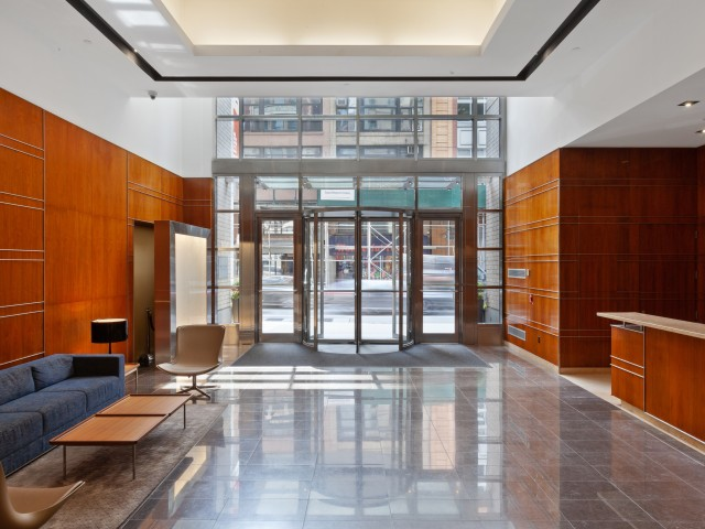 Lobby with 24-hour concierge