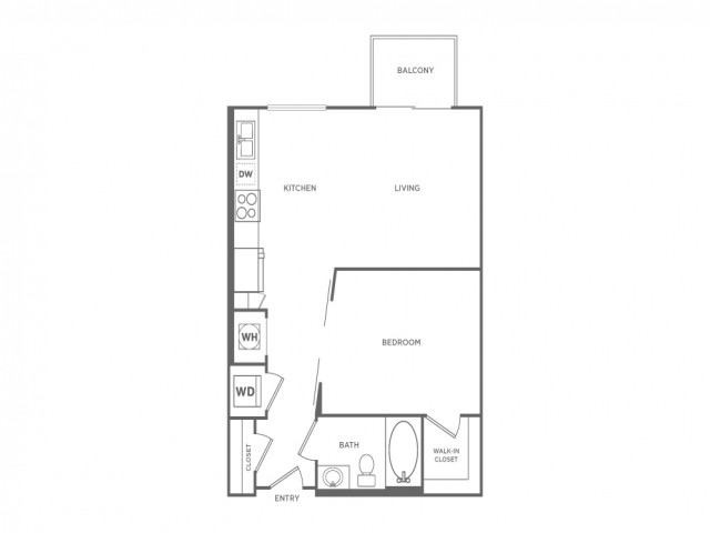 ST1 | Studio1 bath | from 640 square feet
