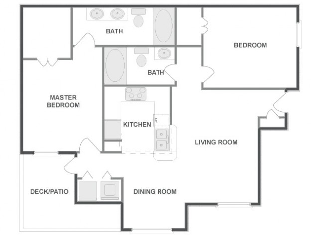 C4A - Tailored | 2 bed 2 bath | from 1084 square feet