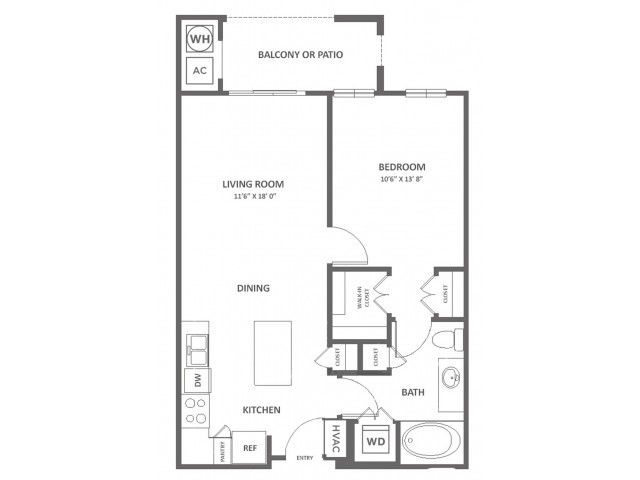 Alexandria II | 1 bed 1 bath | from 690 square feet