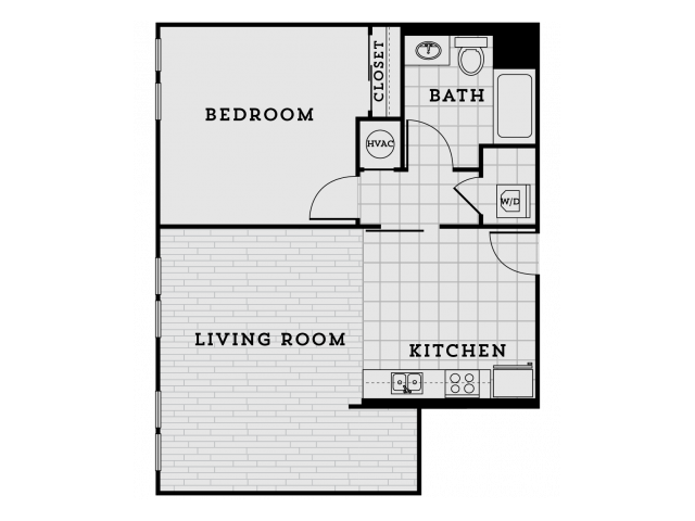 BA3-Classic One Bedroom