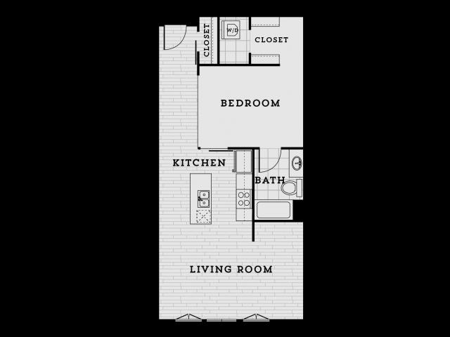 DA2R-Tailored One Bedroom