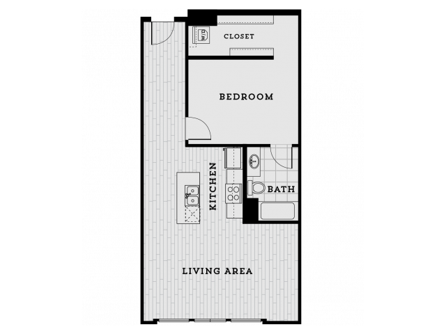 DA3R-Tailored One Bedroom