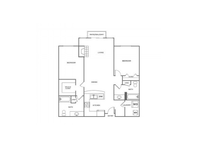 Fidalgo-Restored | 2 bed 2 bath | from 1039 square feet