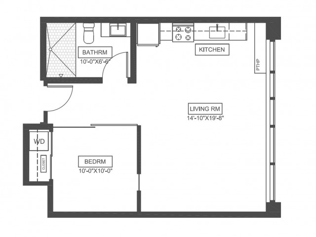 A5 | 1 bed 1 bath | from 600 square feet