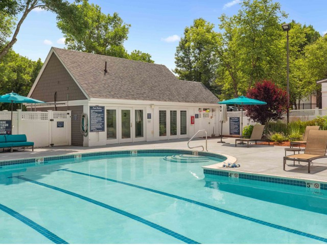 Sparkling Pool with updated seating