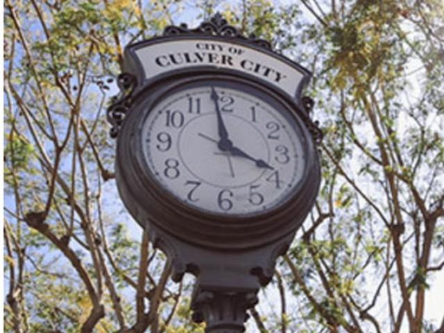 Culver City Clock
