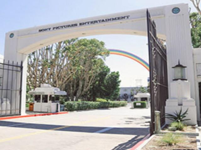 Sony Studios  entrance
