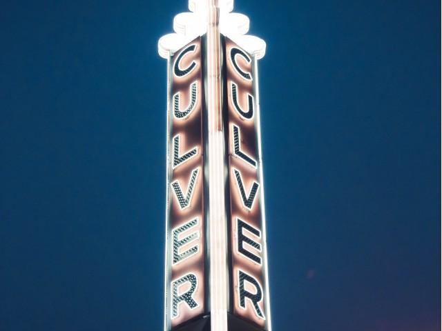 Kirk Douglas Theatre sign