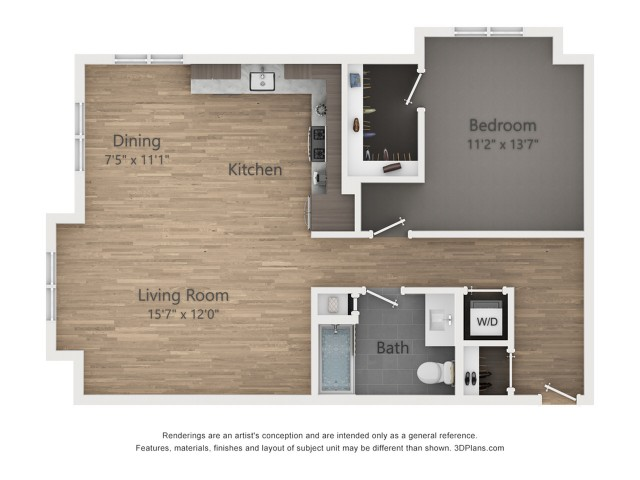 One Bedroom A10  903 sq ft
