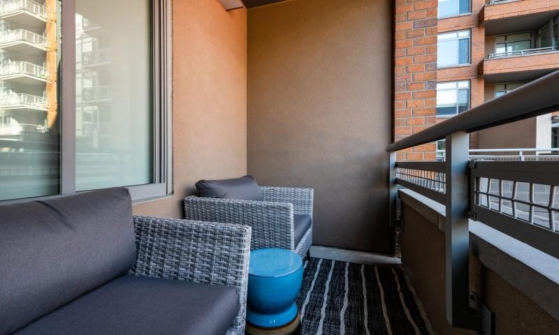 Spacious Silver Spring balcony