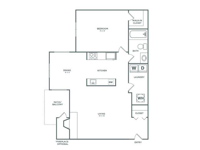 A1R Birch Reno   1x1   736 sq ft