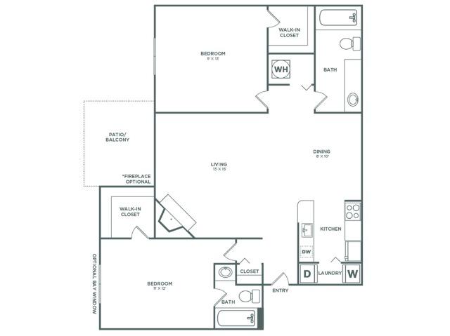 B2 Maple   2 x 2   935 sq ft
