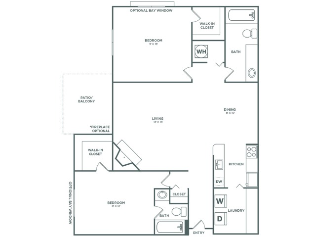 B3R Spruce Reno   2 x 2   983 sq ft
