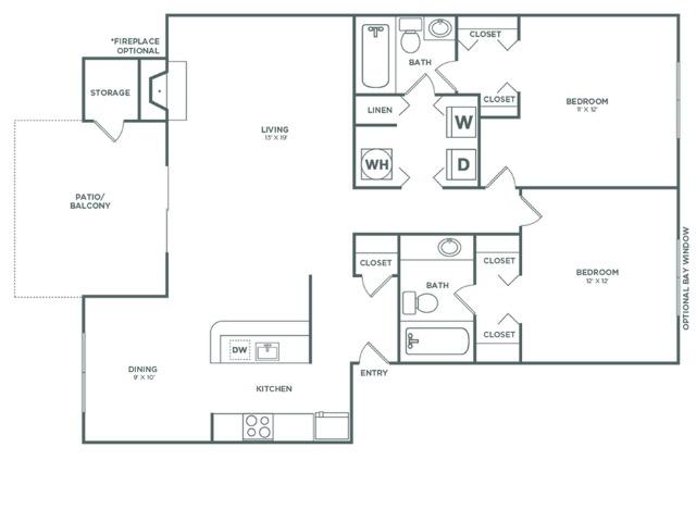 B4 Oak   2 x 2   1048 sq ft
