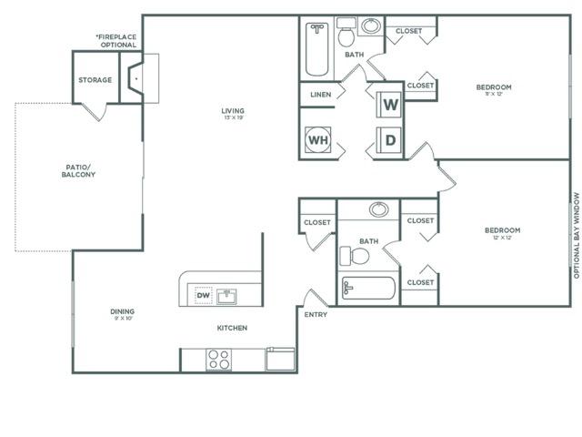 B4R Oak Reno   2 x 2   1048 sq ft