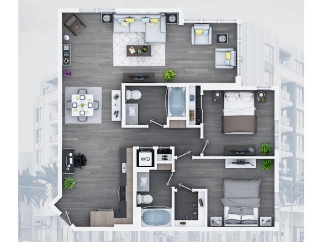 2 bedroom C10 1134 Sq ft