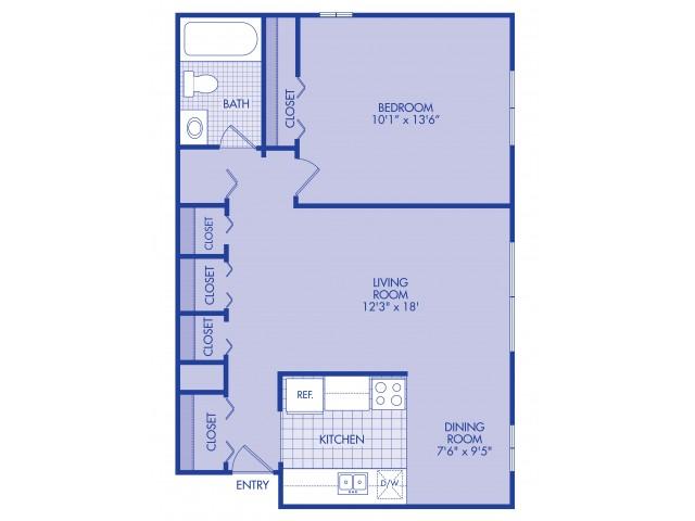 1 bedroom lower