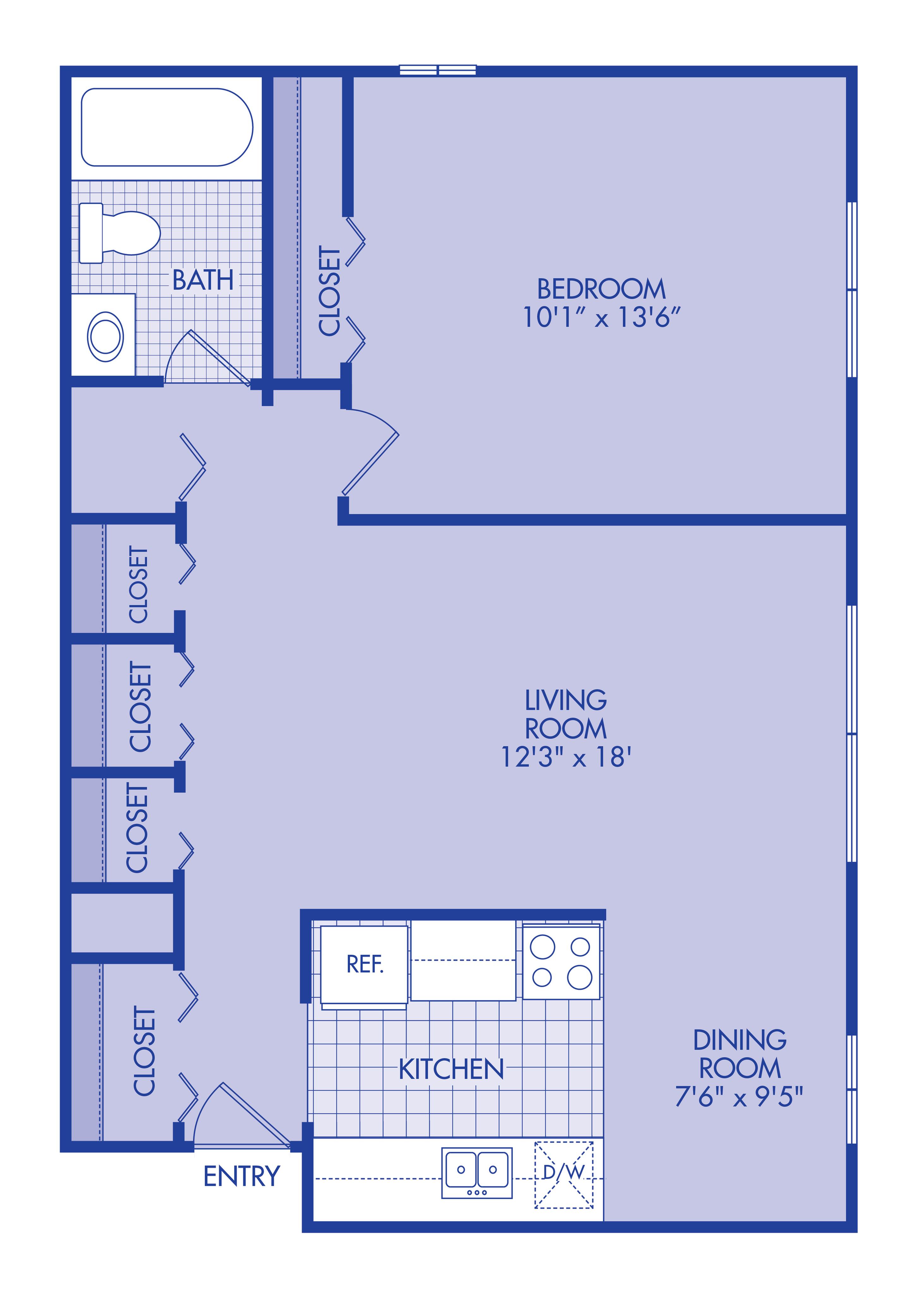 .1 bedroom lower renovate
