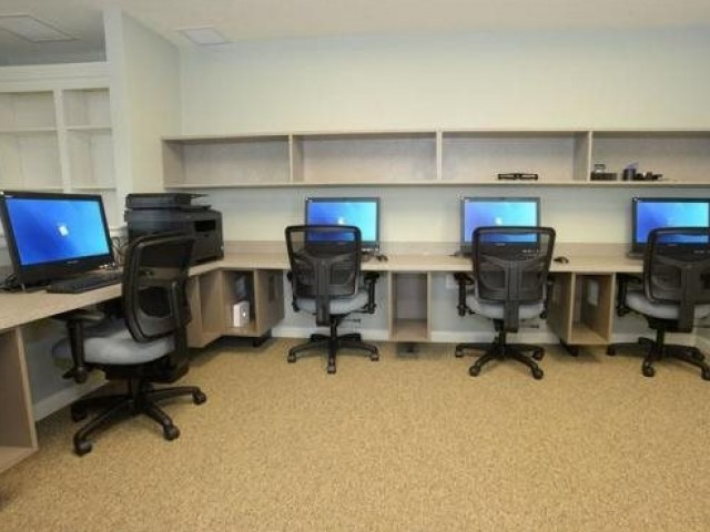 Image of Library/Business Center *Available at Phase I for Collingwood Green