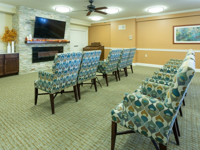 Image of Great Room for Brookhaven Manor Senior Living
