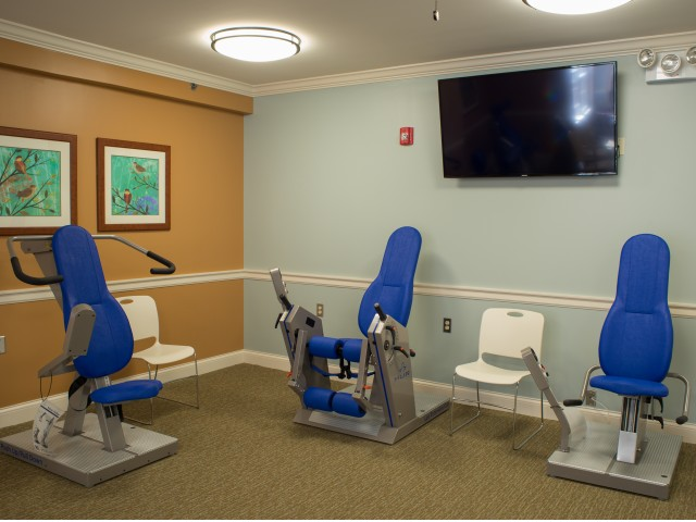 24 HR Access To Fitness Center