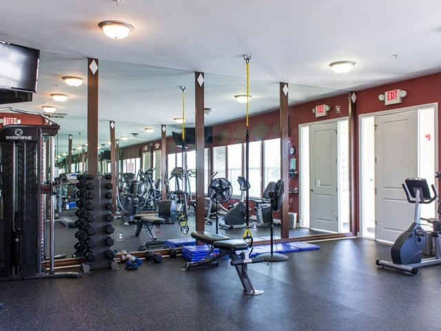 Image of 24-hour Fitness Center for Kirkway Apartments